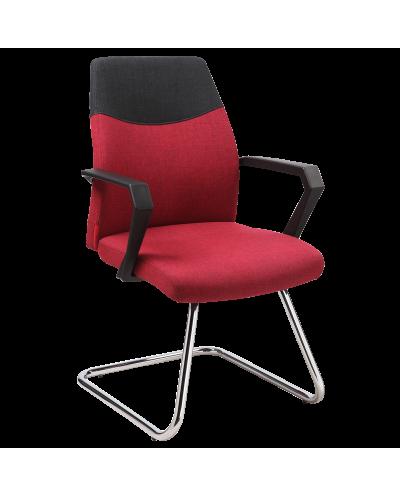 Посетителски стол Carmen 6003 мостра цвят Червен