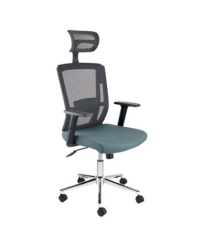 Ергономичен офис стол Top II сив