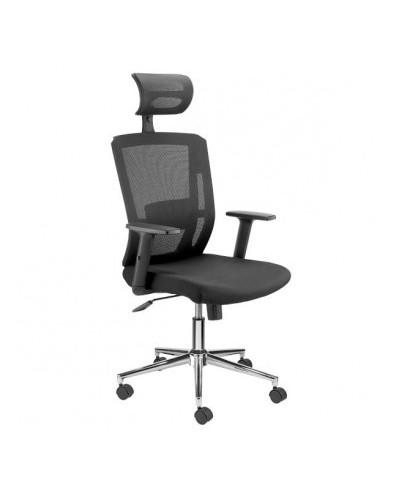 Ергономичен офис стол Top II черен