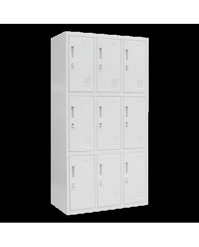 Метален шкаф Carmen CR-1274 J - сив
