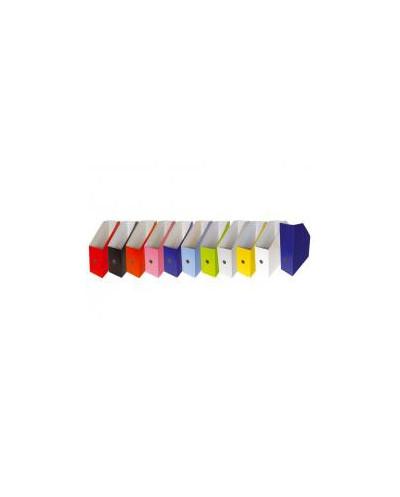 Бокс вертикален, велпапе, 10 цвята микс