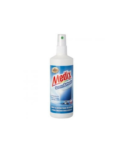 Почистващ универсален препарат Medix Expert Screen&Plastic Спрей 200 ml Цена без ДДС: 3.28лв.
