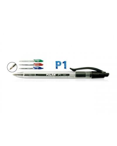 Химикалка MILAN автоматична, P1, 1.0 мм