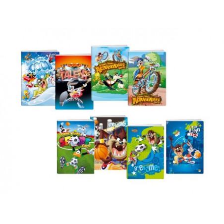 Тетрадка A5 2xUV Looney Tunes, 24 л.ред, 70 г/м2