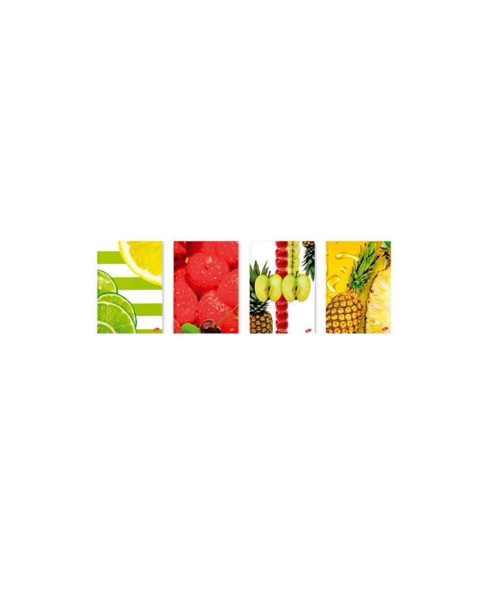 Тетрадка A4 тв.корица Fruits, 96 л.ред, 80 г/м2
