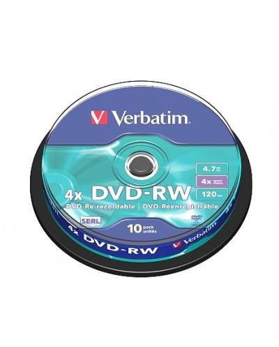 Verbatim DVD-RW 4.7GB шпиндел