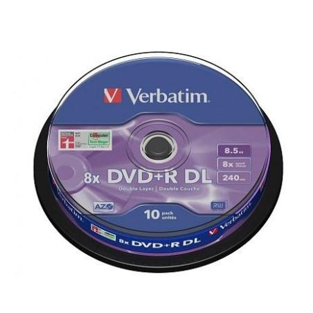 Verbatim DVD R 8.5GB Dual Layer шпиндел