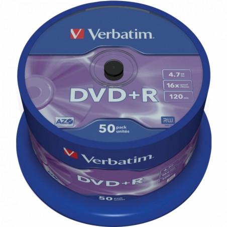 Verbatim DVD+R 4.7GB шпиндел
