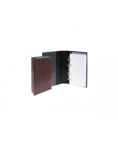 Визитник ринг с азбучник, SPREE, 200 визитки
