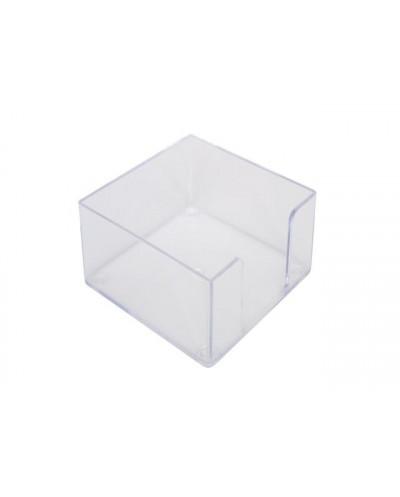 Поставка за харт.кубче прозр., SPREE, 85x85x50 мм