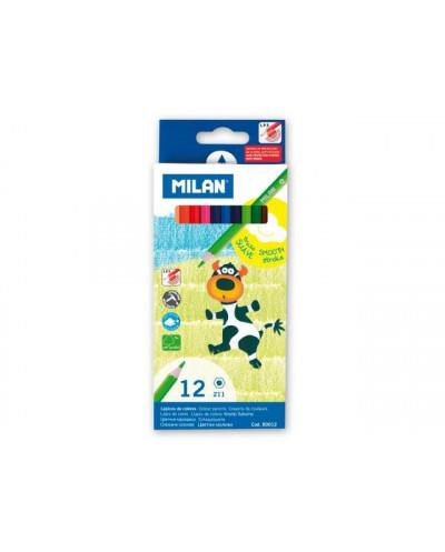 Моливи MILAN 12 цвята - серия 211