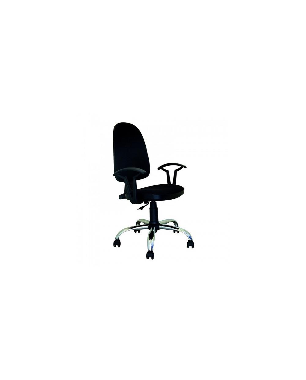 Офис стол PRESTIGE STEEL CHROME