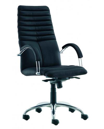 Офис стол GALAXY STEEL, естествена кожа