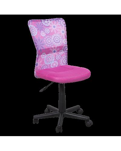 Офис стол Carmen 7022-1 - розов
