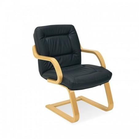 Посетителски стол Senator - Черен