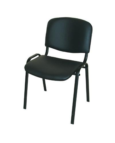 Посетителски стол Taurus TN SK-B, еко кожа
