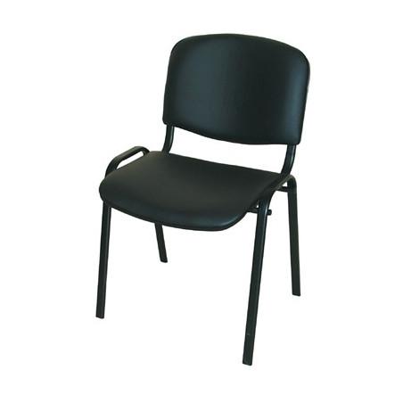 Посетителски стол Taurus TNT SK-B, еко кожа