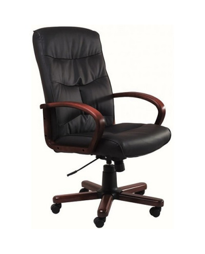 Офис стол 5402 P-R, естествена кожа