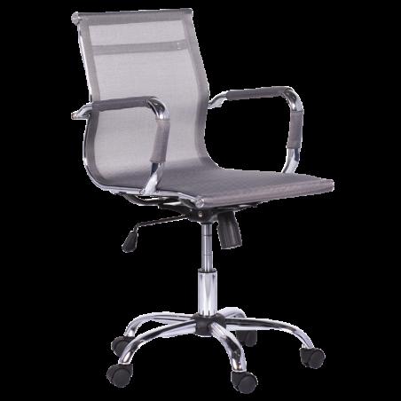 Офис стол Carmen 8801 - Сребрист