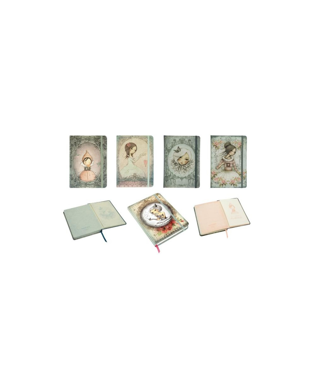 Тетрадка с ластик 19.5х14, 96 л. ред, хартия крем 100 г/м2