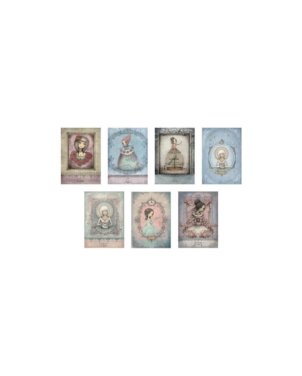 Тетрадка А4 мат/глитер Mirabelle, 44 л.ред, хартия крем 80 г/м2