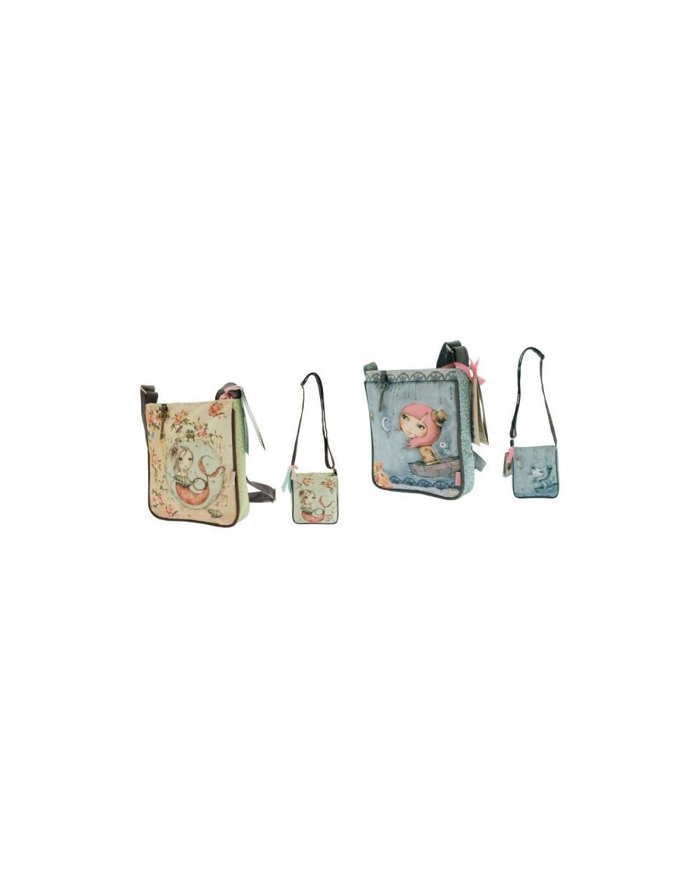 Чанта с дълга дръжка, мини, 21х24х6 см