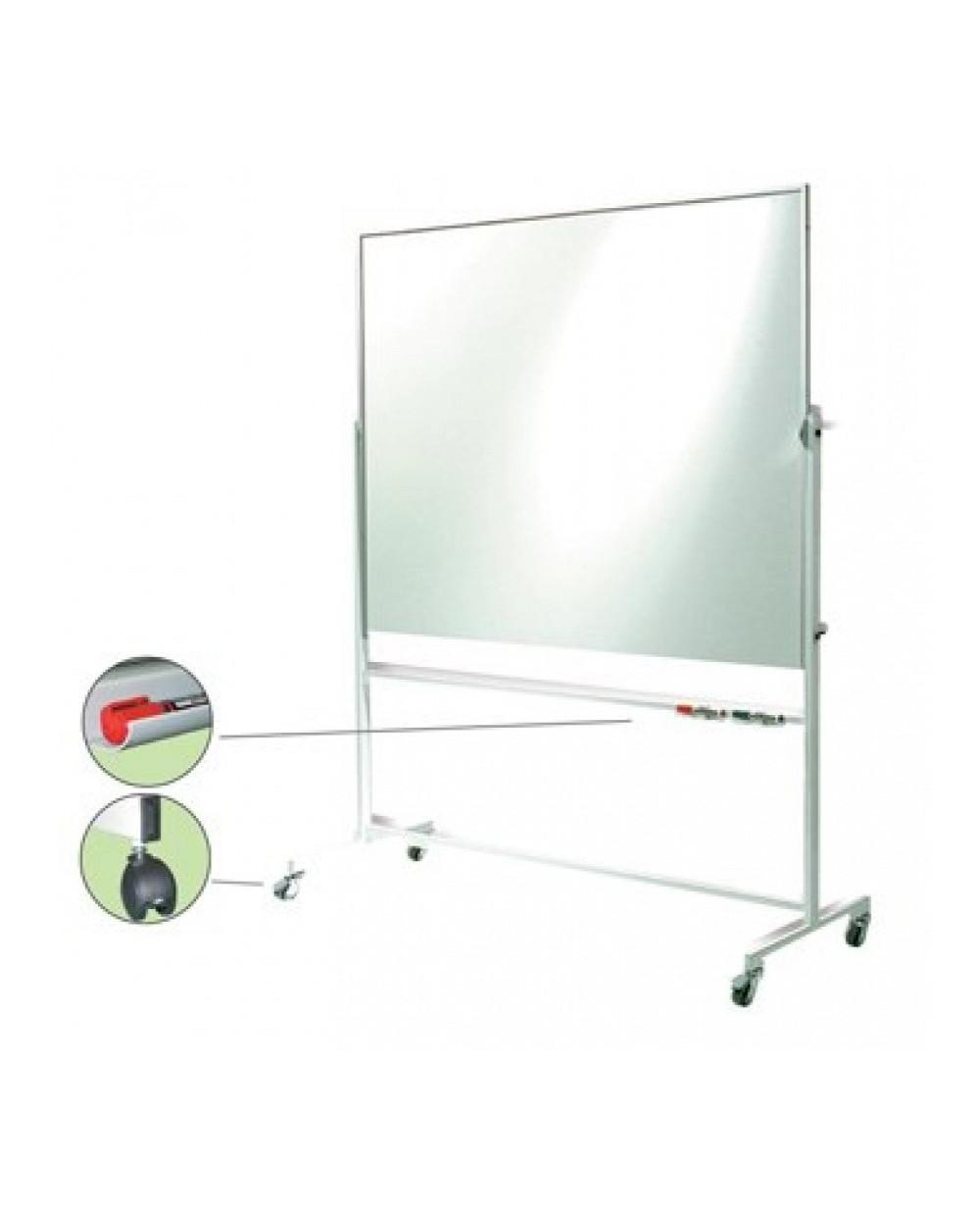 Бяла магнитна дъска Bi-Office, 180x120 см